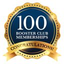 Booster Club Hits 100 Memberships!