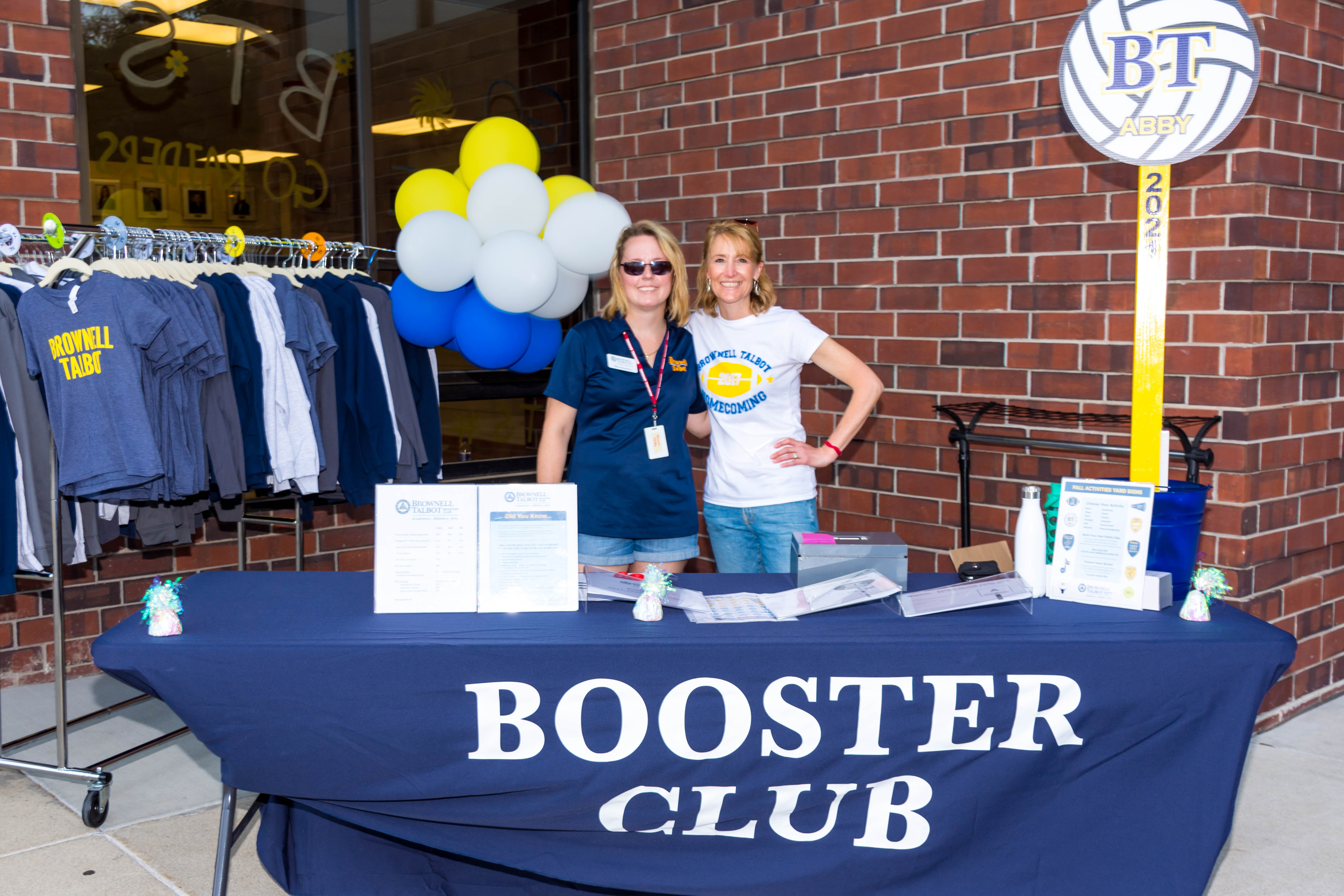 Booster club at Brownell Talbot